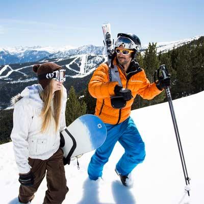 Equipamiento para Snowboard y Esquí