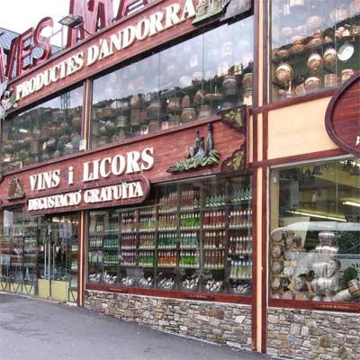 Comprar alcohol en Andorra