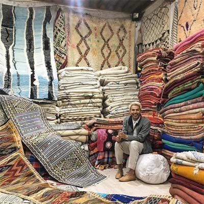 Alfombras zoco Marruecos