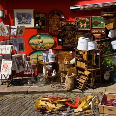 Mercado de Pulgas en Londres
