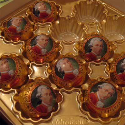 Bombones Mozart (Mozartkugel)