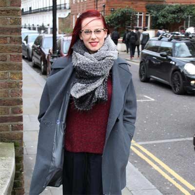 Una bufanda típica de Londres
