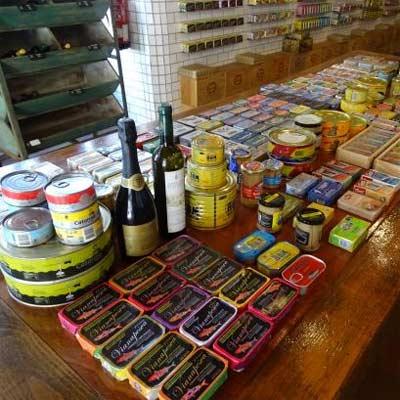 Productos de Alimentación típicos de Portugal