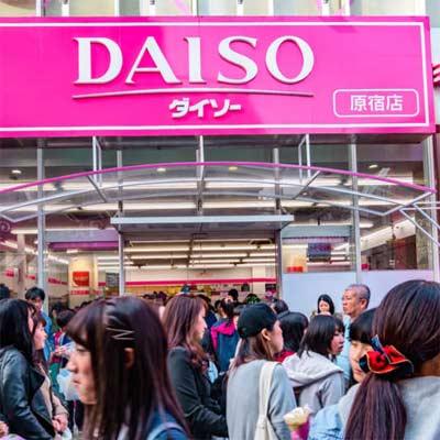 Tiendas de todo a 100 Yenes como Daiso