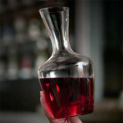 Decantador de vino hecho en Gibraltar