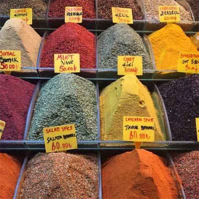Mercado de especias en Estambul