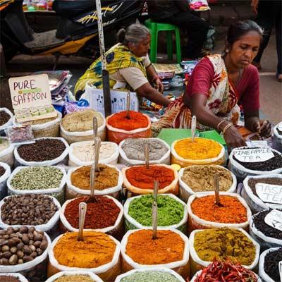 Especias indias naturales