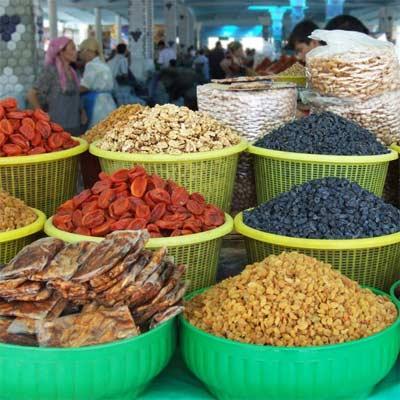Frutos Secos Bazar uzbeko