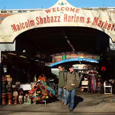 Importaciones africanas mercado Malcolm Shabazz