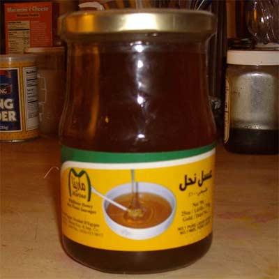 Miel casera egipcia