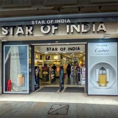 Star of India Gibraltar Perfumes