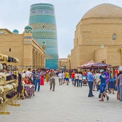 Qué se puede comprar en Uzbekistán